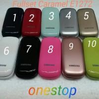 Casing/Kesing/Case Original Samsung Fullset Lipat Caramel E1272
