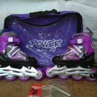 Sepatu roda Power aosite roda karet+ AS roda bajaj
