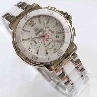 jam tangan TAG Heuer Formula 1 One WHITE SILVER Ceramic for