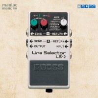Boss LS-2 (Line Selector, Loop, Switch Amp, 6 Mode, Power Supply)
