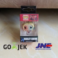 Jual Funko Pocket Pop keychain - DC Comics - Harley Quinn Murah