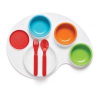 Skip Hop Palette Plate Feeding Set