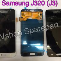Lcd + Touchscreen Samsung J320 J3 Black/White/Gold