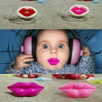Empeng Bibir Bayi Baby Dot Lips Pacifier