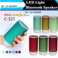 Speaker Bluetooth Go-on c-321 ( usb , fm , aux, lampu )