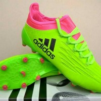 Sepatu Soccer Bola Adidas Techfit X16 green