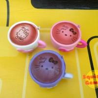 Jual Hello kitty cafe cup squishy hk replica Murah