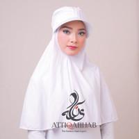 Hijab Instant Turban Topi Traveller - Putih
