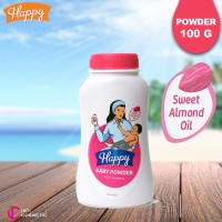 Happy Baby Powder (Bedak) Pink 100gr