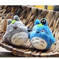 Jual Gantungan Kunci Boneka Plushie Bulu Totoro Ghibli Unik Korea Murah