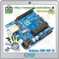 Arduino Uno R3 ATmega328P DIP IC Pakai Socket / Tanpa Kabel