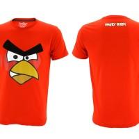 Jual Kaos Baju Topgear Angry Birds Red Best Seller Murah