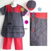 Promo Baju Koko Anak Yandet Labella KA27 GMY Pendek - 0226 Terlaris