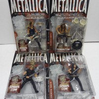 METALLICA Harvester of Sorrow Complete Set of 4 McFarlane Toys 2001