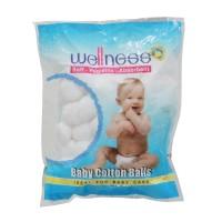Wellness Cotton Balls / Kapas Bola isi 100pcs