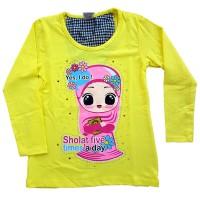 Baju Kaos Anak Cewek Perempuan T-Shirt Tshirt Jc1-6 - Best Seller...