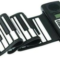Portable Flexible Electronic MIDI Roll Up Piano 61 Soft Keys BORA