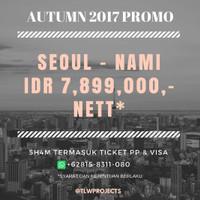 PROMO Open Trip Korea Selatan - Autumn 2017 Full Package