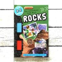 Harga buku import anak i explore rocks with 3d glasses and 3d | antitipu.com