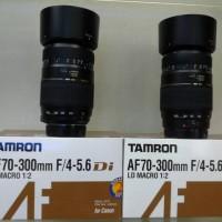 LENSA TAMRON FOR NIKON &CANON 70/300 & 75/300