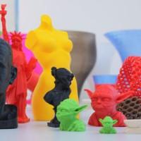 Jasa 3D Print Printing 3 Dimensi Plastic PLA Warna Banyak