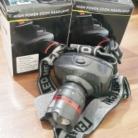 Senter Kepala Zoom / Headlamp Zoom 6611