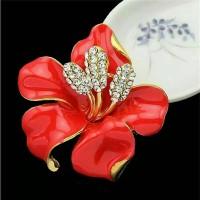 harga Bros Bunga Cristal Lili Imut Bross Hijab Brooch Tokopedia.com