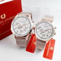 Original Garansi 100% ~ Fashion Watch Couple Charles Jourdan 1382B