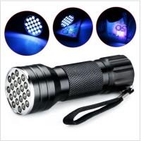 harga Senter Ultraviolet 21 Led Uv Flashlight - Garansi Tokopedia.com