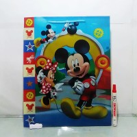 Paper bag Mickey mouse 39 cm x 31 cm x 9 cm