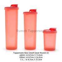 Jual Tupperware New Smart Saver Round Set (3)(PROMO) Murah