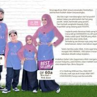 Kaos family dhikr 60A size L -Xxl