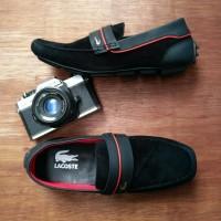 Jual Sepatu Slip On Casual Adidas Pria Sepatu Santai Kulit Slop Loafers Murah