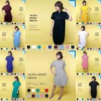 Jual AKIRA SHIRT DRESS baju santai baju pesta atasan pakaian wanita murah Murah