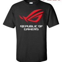 Kaos / T-Shirt - Asus ROG Republic of Gamers