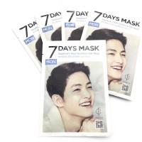 FORENCOS 7 DAYS MASK SHEET MASK SONG JOONG KI MONDAY SENIN