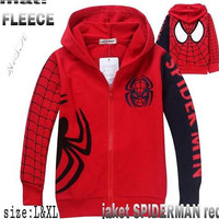 Sweater anak / jaket anak Spiderman