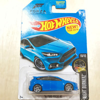 Hot Wheels 16 Ford Focus RS