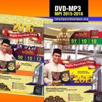 DVD-MP3 Kajian Majlis Percikan Iman MPI 2015-2016 (2 DVD)
