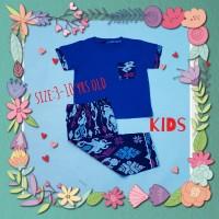baju tidur anak/piyama kids/kaos lgn pdk/cln pjg batik benhur
