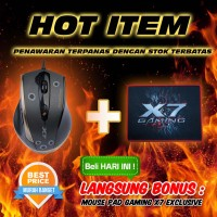Jual Mouse Gaming Macro A4Tech X7 F3 Murah