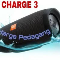 Jual Bluetooth JBL Speaker Bluetooth JBL Charge 3 + Waterproof + Powerbank Murah
