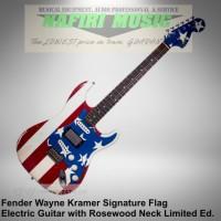 Fender Wayne Kramer Signature Flag Stratocaster RW Flag original