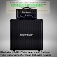 Blackstar HT-1RH / Blackstar HT-1R Head dengan Reverb + 408 Cabinet