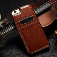 Leather back cover case iphone 6/6s