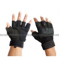 Glove Oakley Half Finger Sarung Tangan Tactical Airsoft Gun Touring