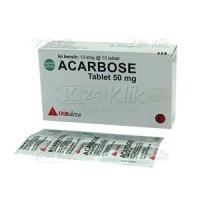ACARBOSE 50 MG |GENERIK GLUCOBAY | OBAT DIABETES