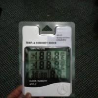 harga Thermometer Hygrometer Ruangan Htc-1 Tokopedia.com