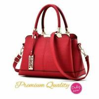 Harga red merah swiss handbag sale promo tas wanita kado unik | Pembandingharga.com