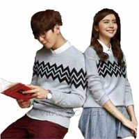 WinKin - Sweater Couple Zig - Abu Murah